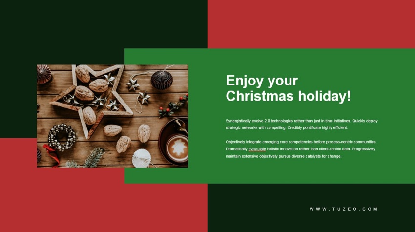 18 Best Free Christmas Powerpoint Templates With Holiday