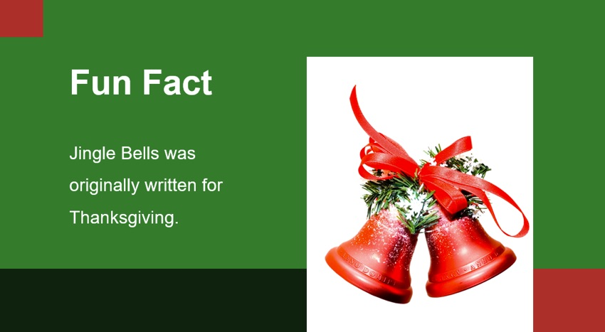Fun Fact Christmas presentation