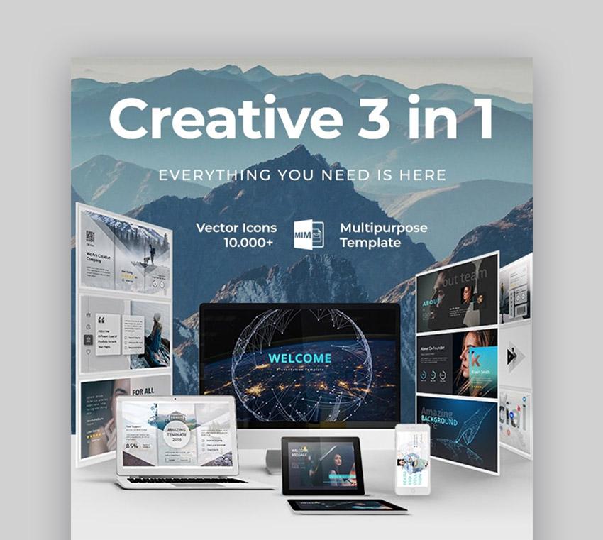 Creative 3 in 1
