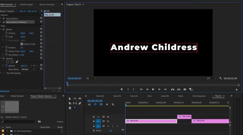 Update text in Adobe