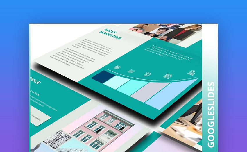 Ocant Pro Google Slides design
