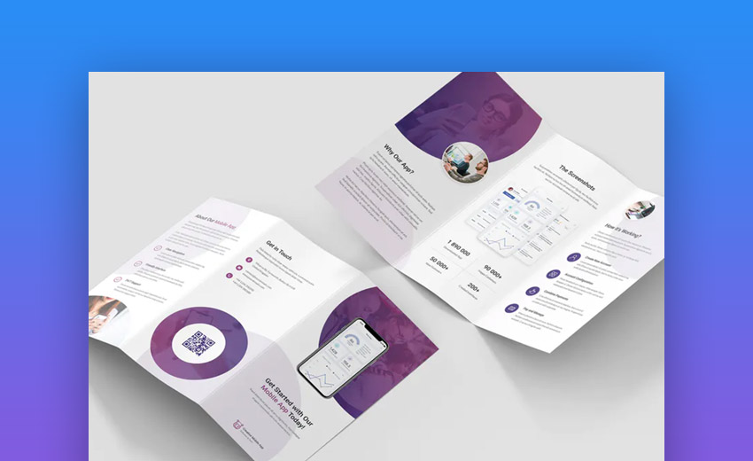 Creative Product brochure template
