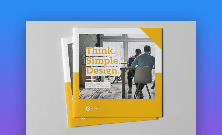 Best business brochure template