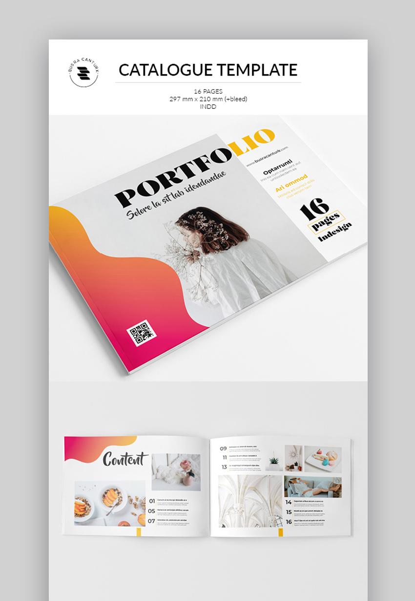 Modern Catalog template