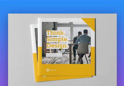 Brochure piece icon