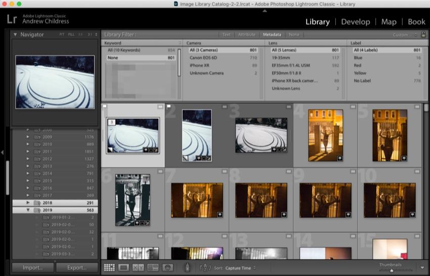 Lightroom untagged images