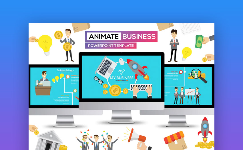 Business Animate PowerPoint Presentation