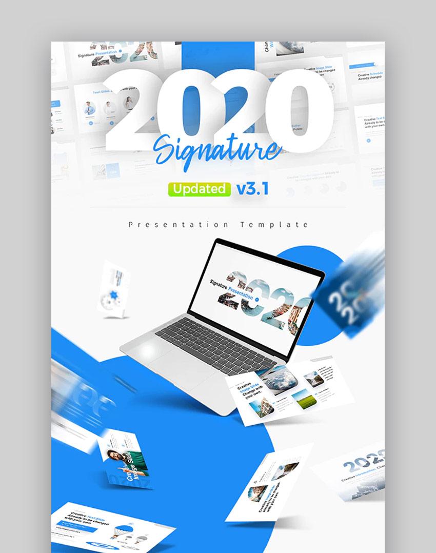 2020 Signature PPT Design