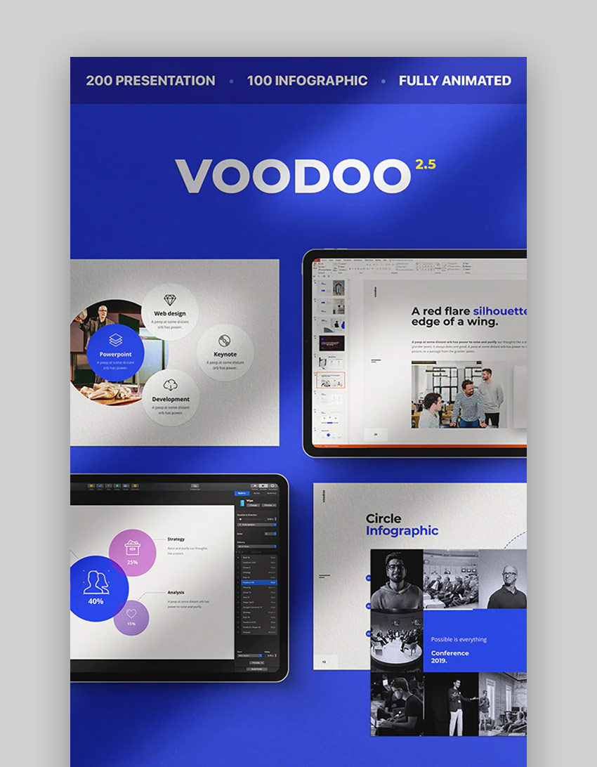 Voodoo PowerPoint Design template