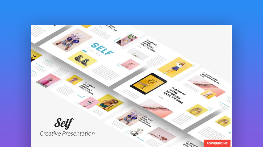 Self Creative Presentation