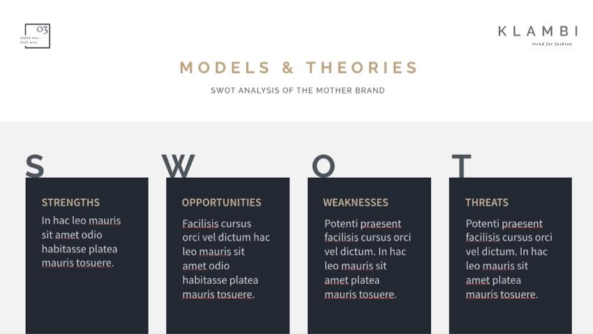SWOT Keynote Designs
