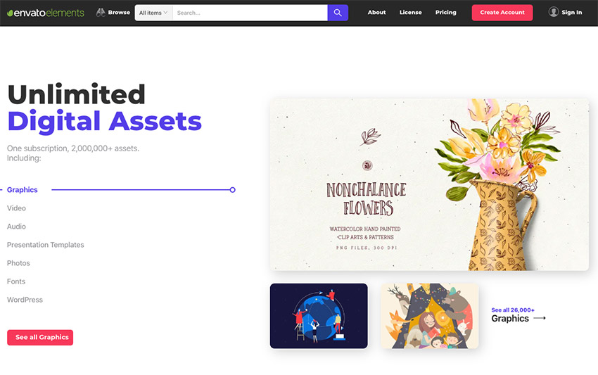 Elements Homepage Image