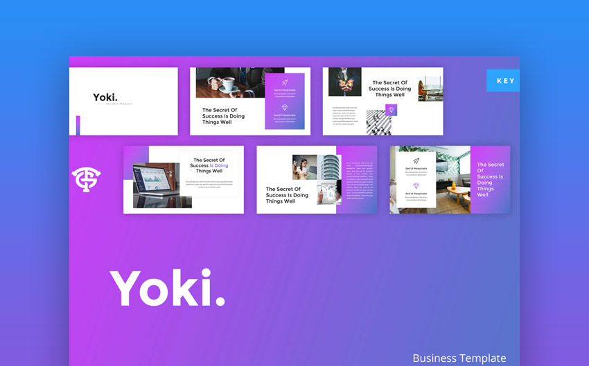 Yoki business Keynote presentation