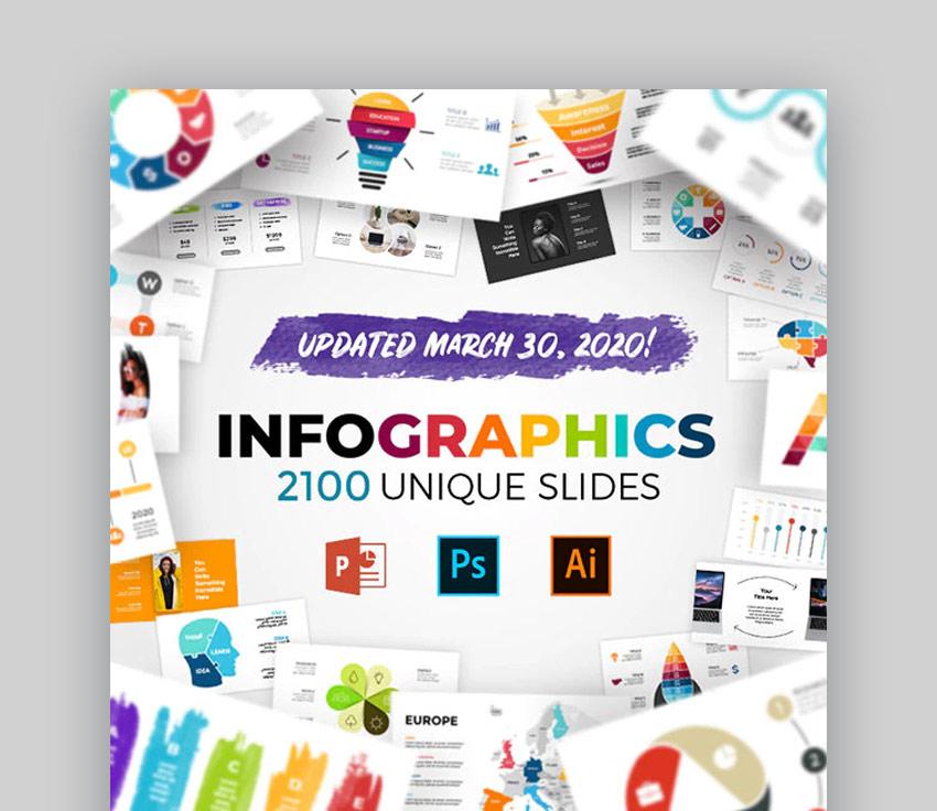 Infographics Microsoft PPT templates