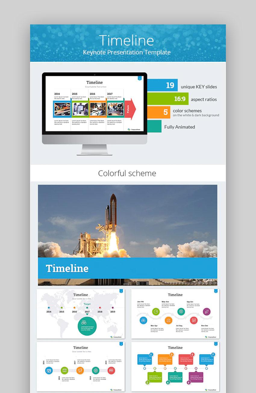 Timeline for Keynote Arrows Design