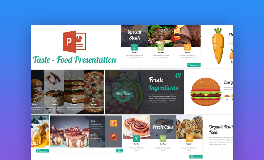 18 Free Food Restaurant Menu Powerpoint Templates