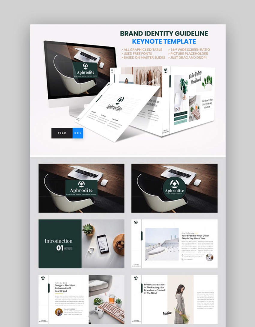 Keynote templates for business