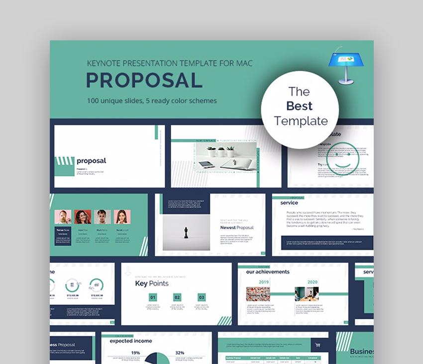 Proposal business proposal Keynote template