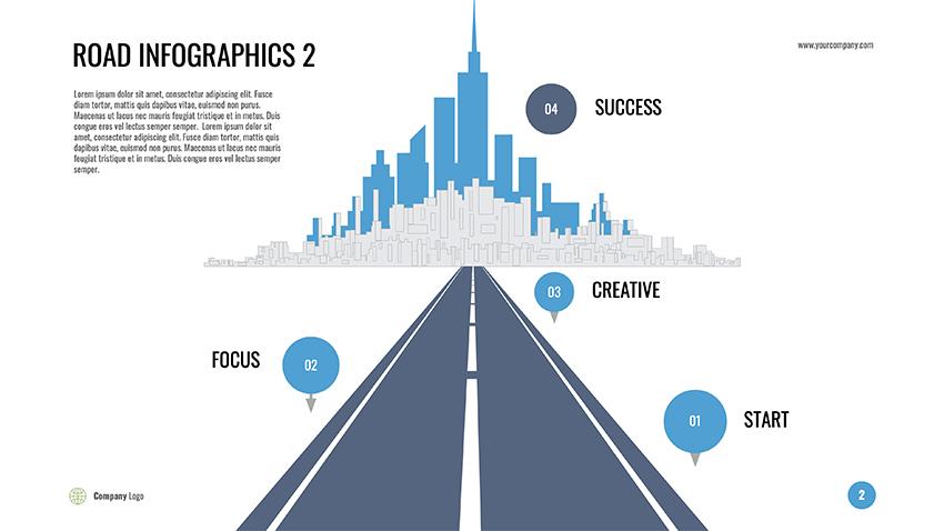 Infographic Google Slides tips