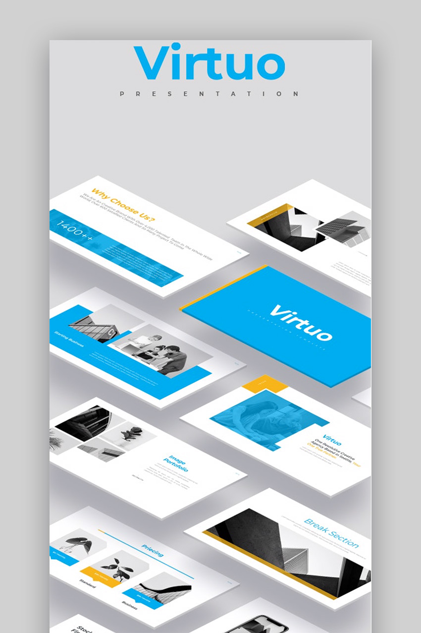 Virtuo fun Slide templates