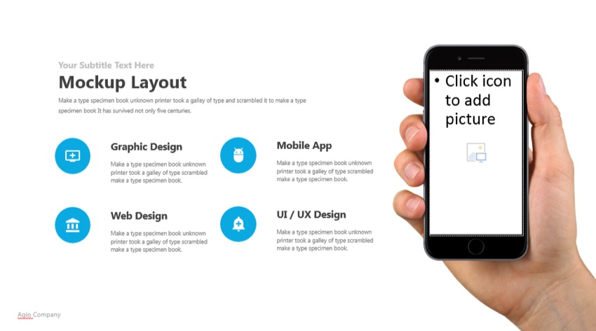 54 Mobile starting with Agio PowerPoint 2021 Template