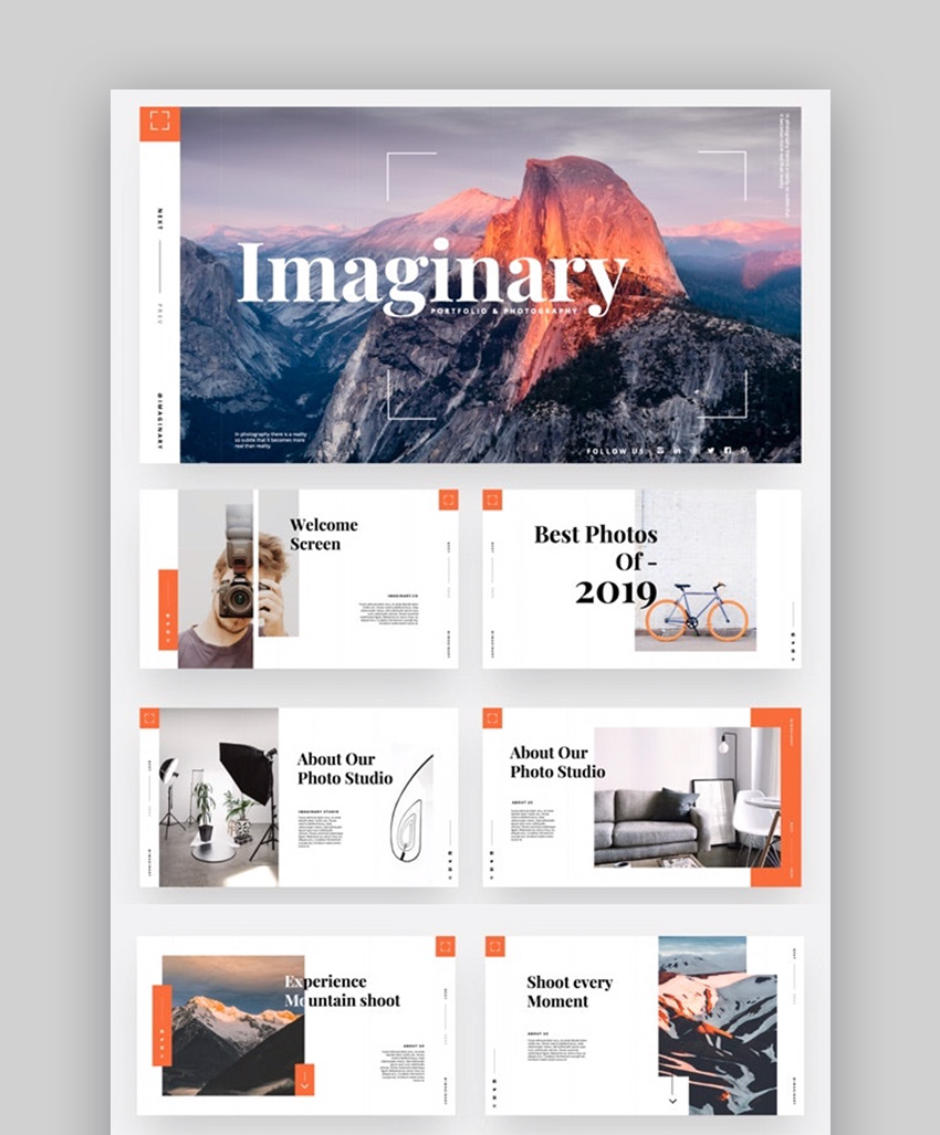 Imaginary PowerPoint templates