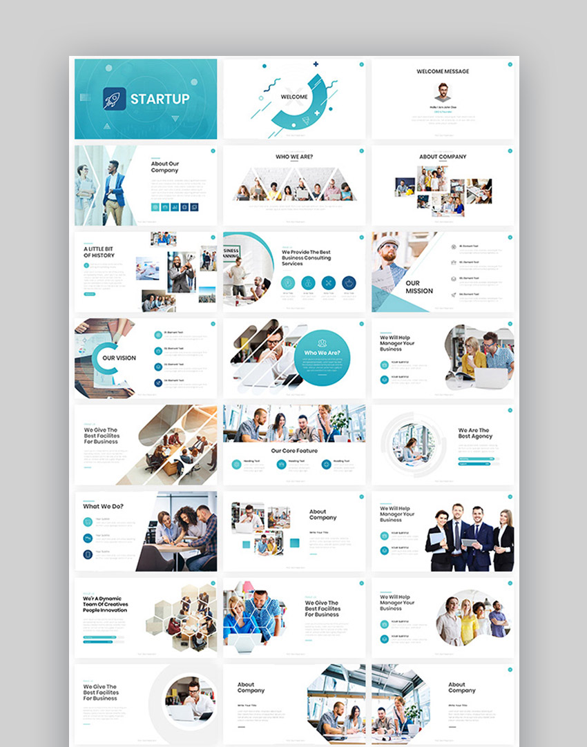 Simple MIcrosoft PowerPoint online themes
