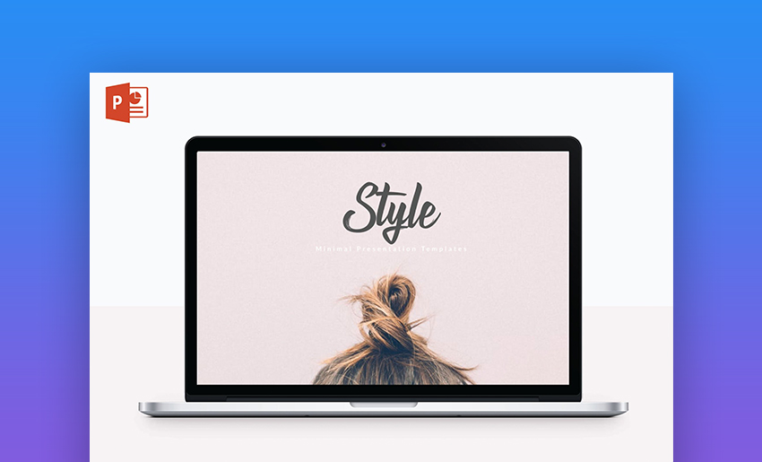 Style Microsoft PowerPoint online themes