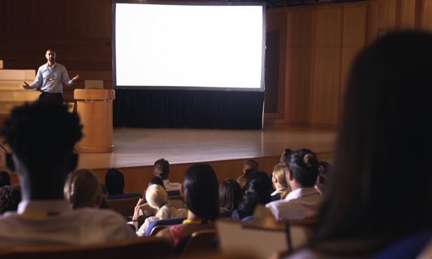 How to make boring presentations interesting