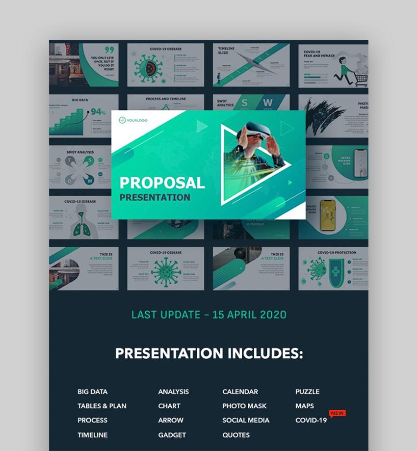 animated calendar in PowerPoint