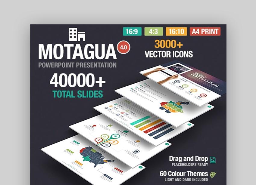 Motagua custom PowerPoint themes