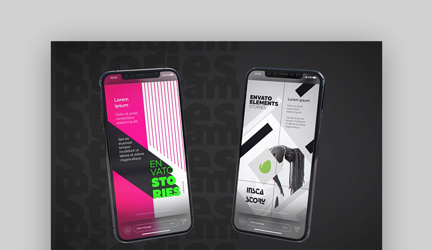 Instagram best After Effects templates 2020