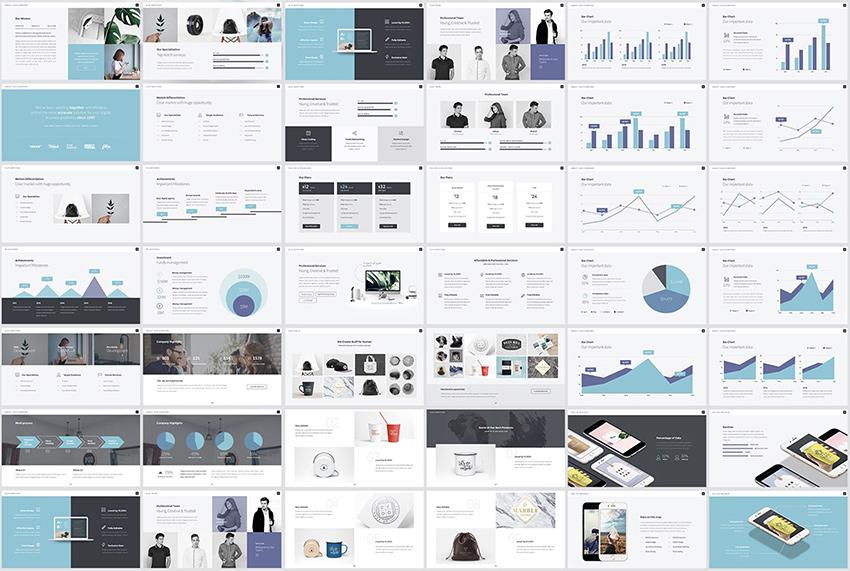 Pitch werk pitch presentation template