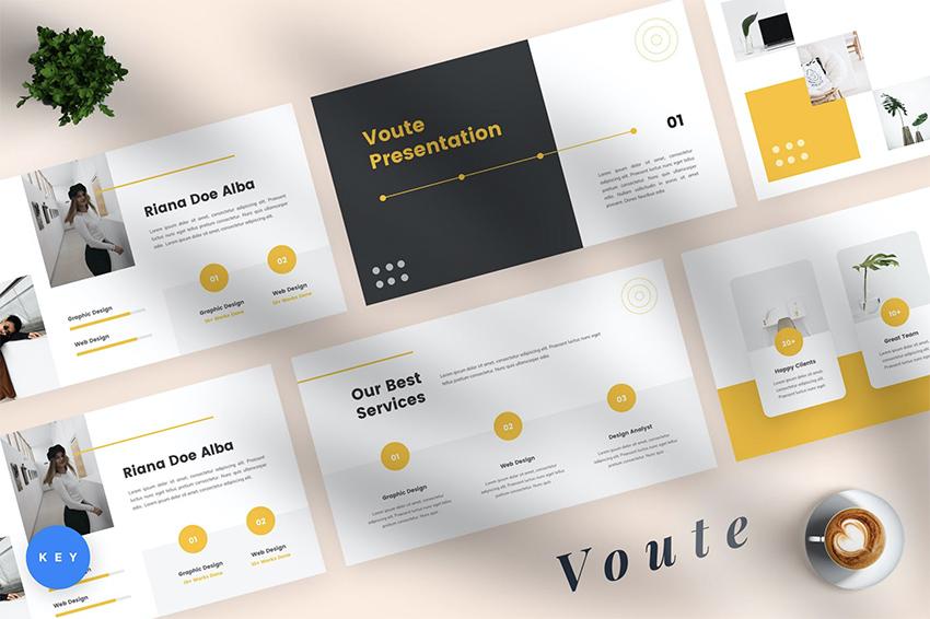 Voute pitch deck design inspiration