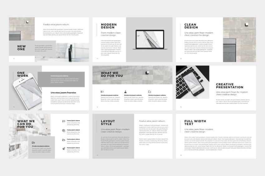 Google Slides templates for business