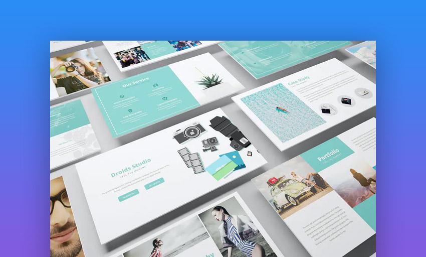 Photography business presentation slides