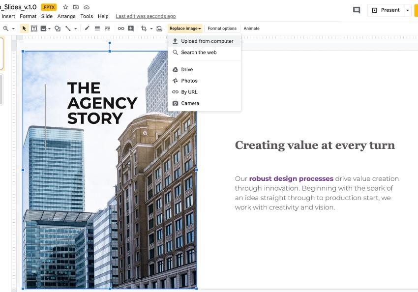 Step 4 best Google presentation templates