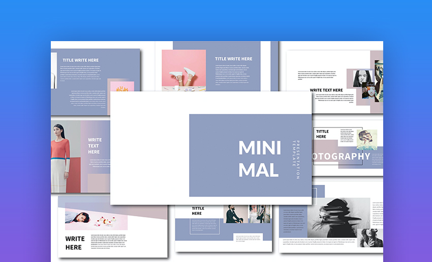 Minimal how to change PowerPoint template