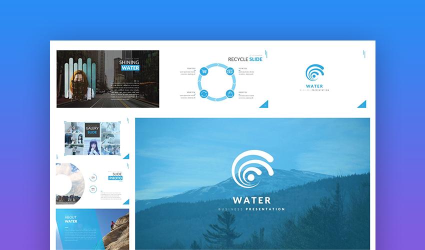 Ocean Google Slides theme