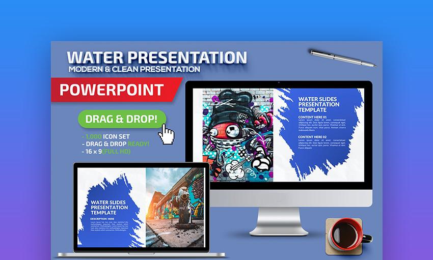 Water PowerPoint background