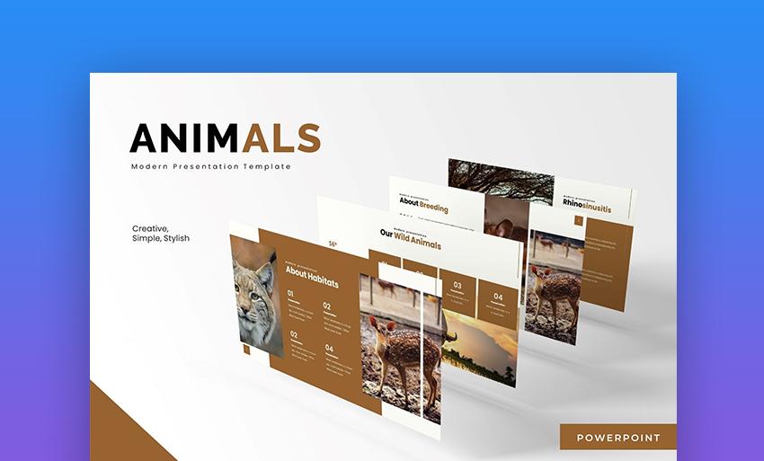 25 Free Animal Presentation Templates For Powerpoint Google Slides 2020