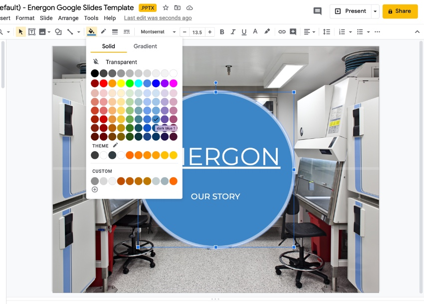 Technology Google Slides theme