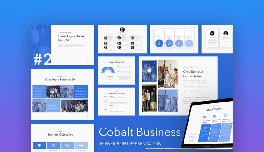 Cobalt create presentation online