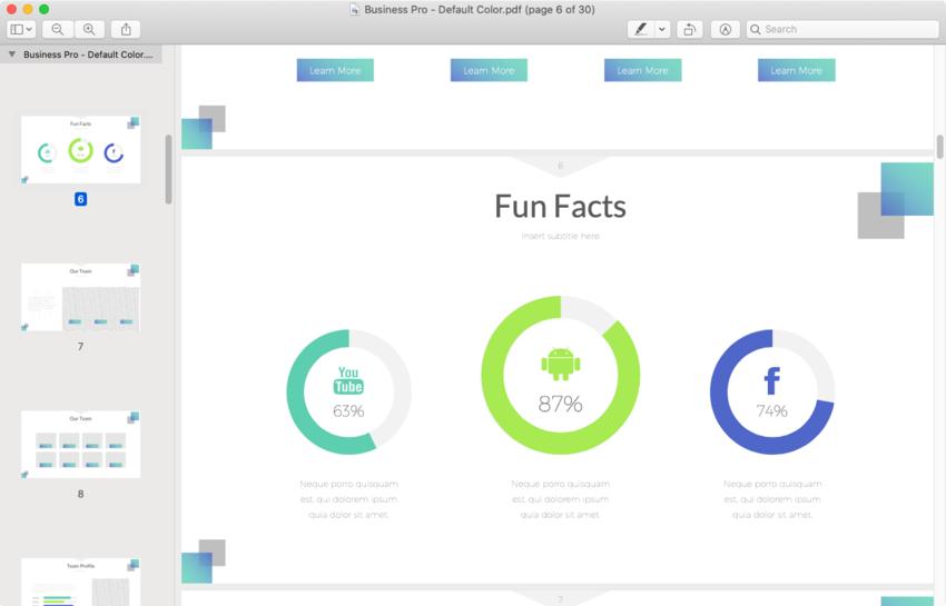 PDF virtual PowerPoint presentations
