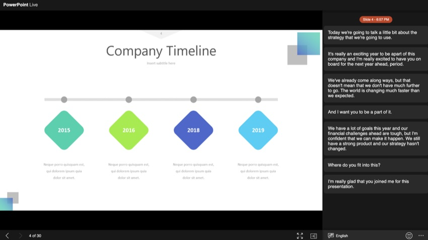 PowerPoint Live opener