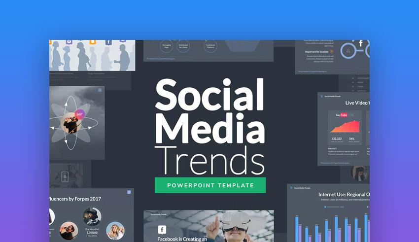 social media virtual powerpoint presentations