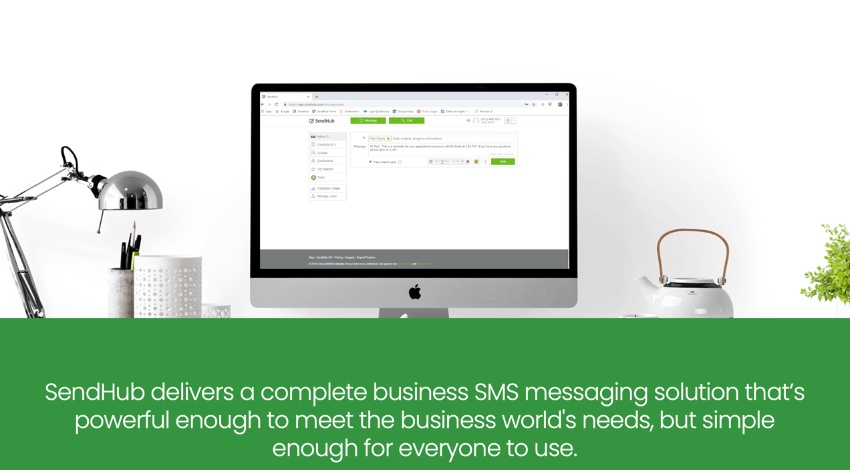 Sendhub business texting services