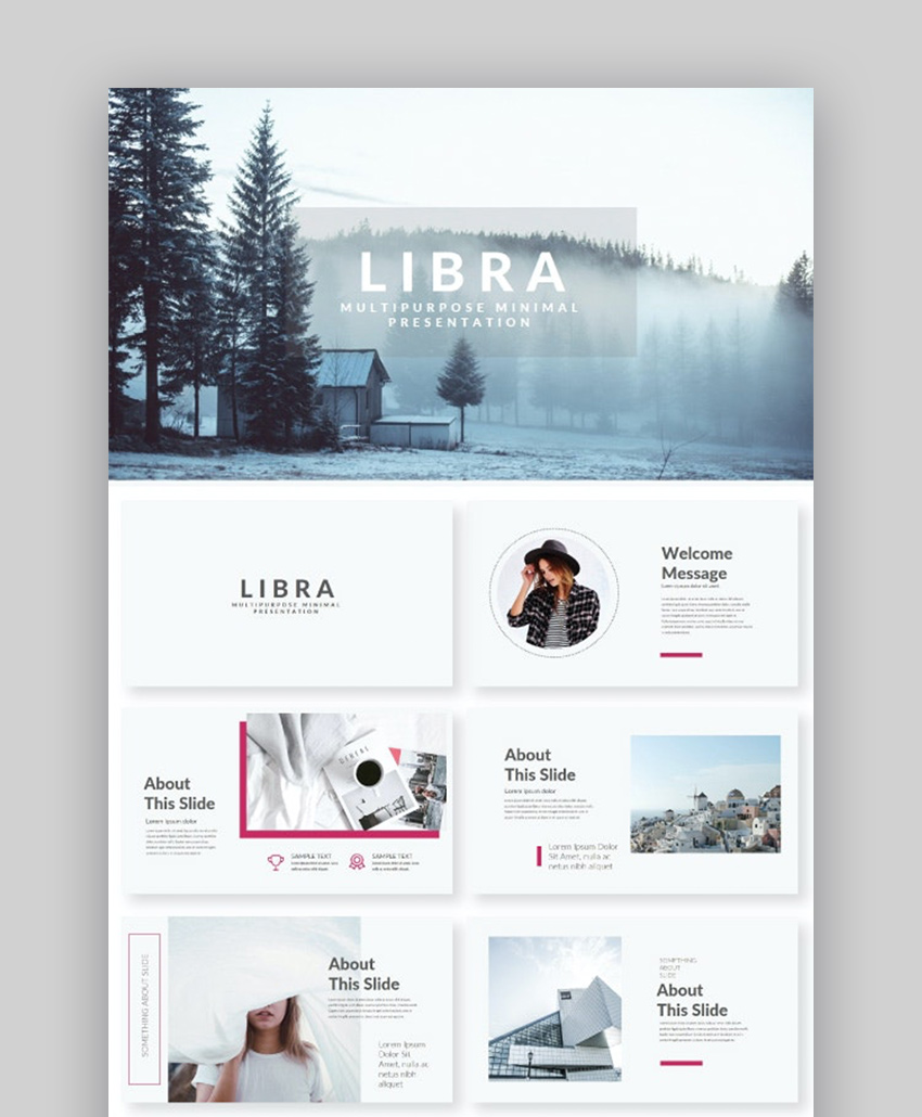 Libra cool PowerPoint ideas