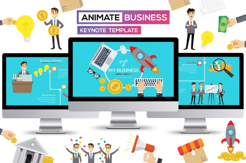 Keynote business templates