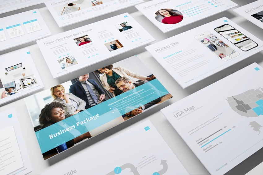 Photo Keynote business templates
